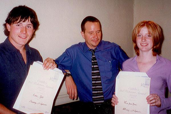 Laura 2002 Caitlin's Kickstart Award Winner